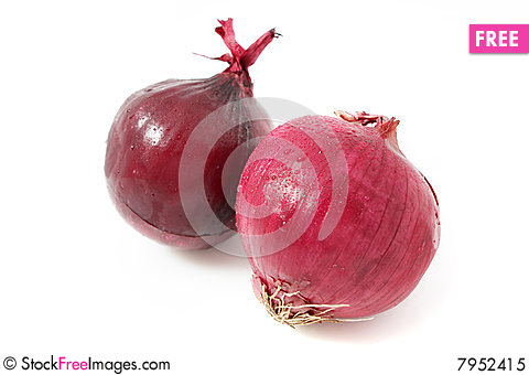 Free Red Bulb Vegetable Food Royalty Free Stock Photo - 7952415