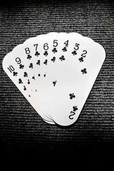 Free Playing Cards Royalty Free Stock Photography - 7950007