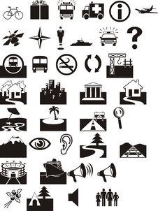 Free Simbols Royalty Free Stock Image - 7951106