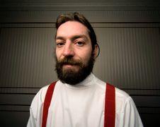 Free Bearded Man Royalty Free Stock Image - 7951776