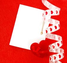 Free Valentines Card Royalty Free Stock Images - 7952559