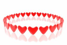 Free Red Hearts Stock Photography - 7952972