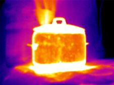 Free Thermograph- Steaming Pot Royalty Free Stock Image - 7953446