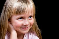 Free Blond Girl Royalty Free Stock Photo - 7953475