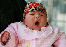 Free Baby Yawning Royalty Free Stock Images - 7954199