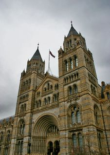 Free Natural History Museum In London Kensington Stock Images - 7954224