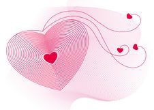 Valentine Abstract Background Stock Photos