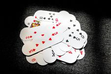 Free Playing Cards Royalty Free Stock Images - 7954949