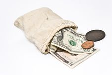 Free Money Bag Royalty Free Stock Image - 7955116