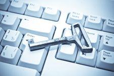 Free Key And Keyboard Stock Photo - 7955240