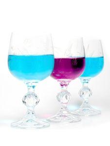 Free Three Wineglass Stock Image - 7955741