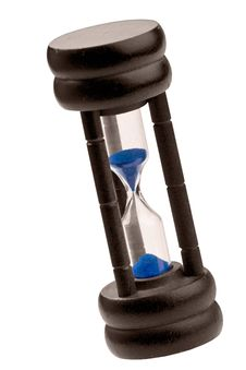 Hourglass Isolated Royalty Free Stock Photography