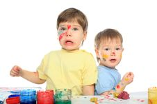 Free Surprised Children Stock Image - 7955981