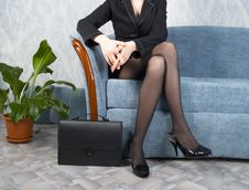 Free Businesswoman At Office Royalty Free Stock Photos - 7956318