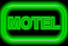 Free Motel Sign Royalty Free Stock Images - 7956359