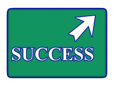 Free Success Sign Royalty Free Stock Photo - 7956365