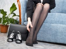 Free Businesswoman At Office Stock Photography - 7956372