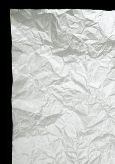 Free Crumpled Paper Stock Photo - 7956380