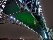 Free Bridge Over The Moscow River Stock Photos - 7956383