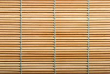 Free Bamboo Mat Stock Image - 7956431