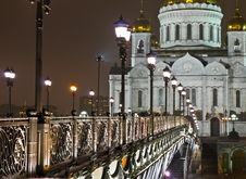 Free Cathedral Of Christ The Saviour In Moscow Stock Image - 7956511