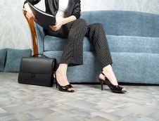 Free Businesswoman At Office Stock Images - 7956614