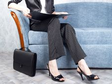 Free Businesswoman At Office Stock Photos - 7956693