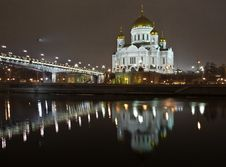 Free Christ The Saviour Cathedral In Moscow Royalty Free Stock Photo - 7956695