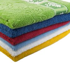 Free Color Towels Stock Image - 7956851