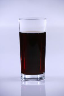 Free Soda Pop In Tall Glass Royalty Free Stock Photography - 7956987