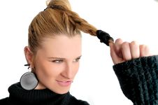 Free Strong Hair Stock Images - 7957054