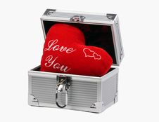 Free Box With Heart Royalty Free Stock Images - 7957109