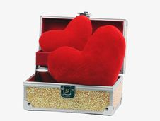 Free Box With Heart Royalty Free Stock Photography - 7957197
