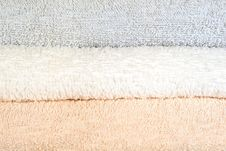 Free Folded Towels Texture Stock Photography - 7957232