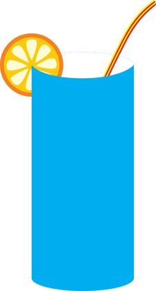 Free Glass With An Orange Slice Stock Photo - 7957240
