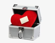 Free Box With Heart Stock Images - 7957264