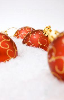 Free Christmas Ball Royalty Free Stock Image - 7957436