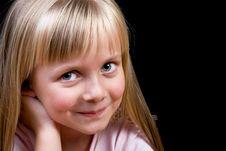 Free Blond Girl Stock Photo - 7957560