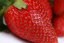 Free Close Up Of Red Strawberry Stock Images - 7957664