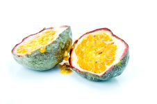 Free Halved Passion Fruit Royalty Free Stock Photo - 7957835