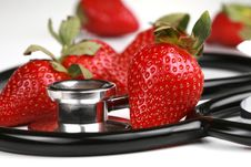 Free Healthy Snack, Strawberries Stock Photos - 7957863