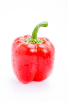 Fresh Red Pepper Royalty Free Stock Images