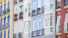 Free Spanish Facades No.3 Royalty Free Stock Photo - 7958185
