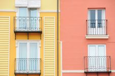 Free Spanish Facades No.1 Royalty Free Stock Image - 7958186