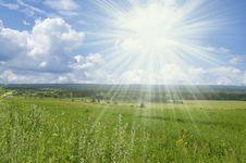 Free Non Urban Sunny Landscape Stock Image - 7958211