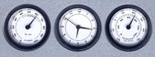 Free Triple Dials Stock Photos - 7958413