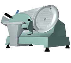Meat Slicer Royalty Free Stock Images