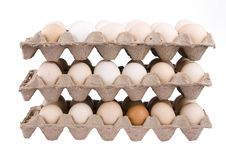 Free Carton Of Eggs Royalty Free Stock Photos - 7959318
