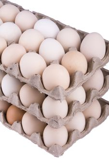 Free Carton Of Eggs Stock Photo - 7959480
