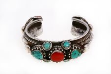 Free Silver Bracelet Stock Photography - 7959902